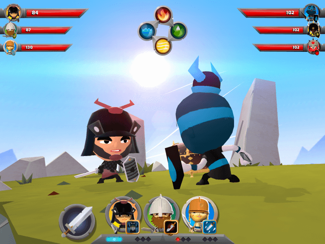 World of Warriors Review iOS iPad Game Review 4