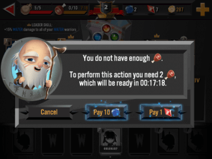 World of Warriors Review iOS iPad Game Review 9